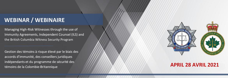 Webinar - Managing High-Risk Witnesses