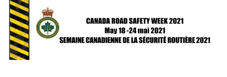 Canada Road Safety Week 2021