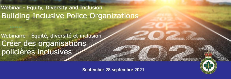 Webinar -EDI: Building Inclusive Police Organizations